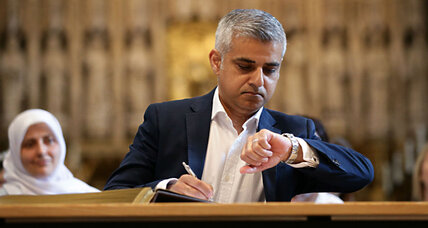 London's first Muslim mayor: A leader for everyone